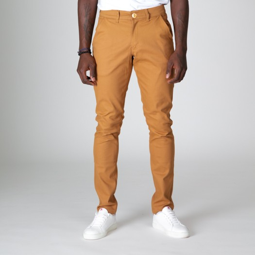 163 Chino Flexdenim Camel face