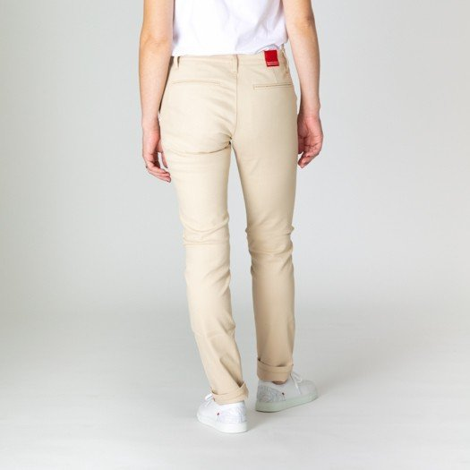 264 chino femme sable dos