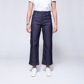 256 jeans lin ample face