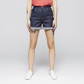 276 Short Court Ample SuperDenimFlex Indigo Brut