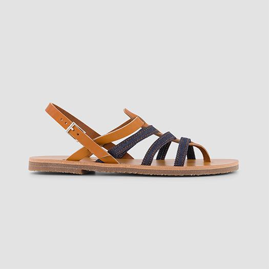 925 les sandales tropeziennes femme