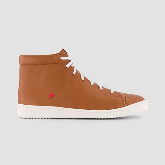 951 les sneakers monatntes cuir camel