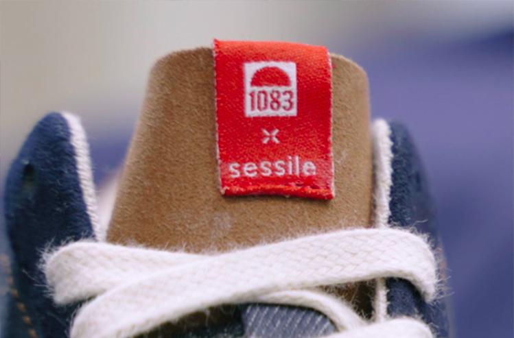 Zoom sur les sneakers x Sessile