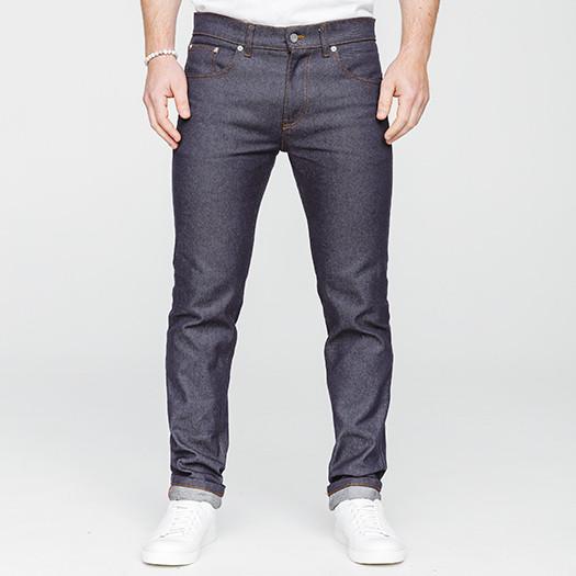 Les jeans ajustés homme