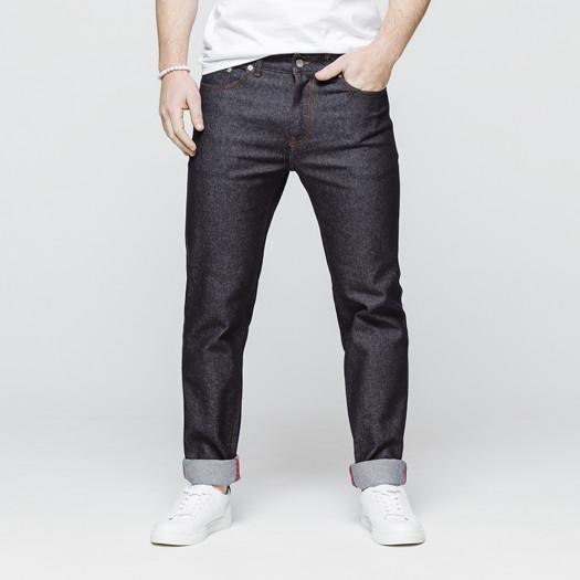 Le jeans athlétique homme