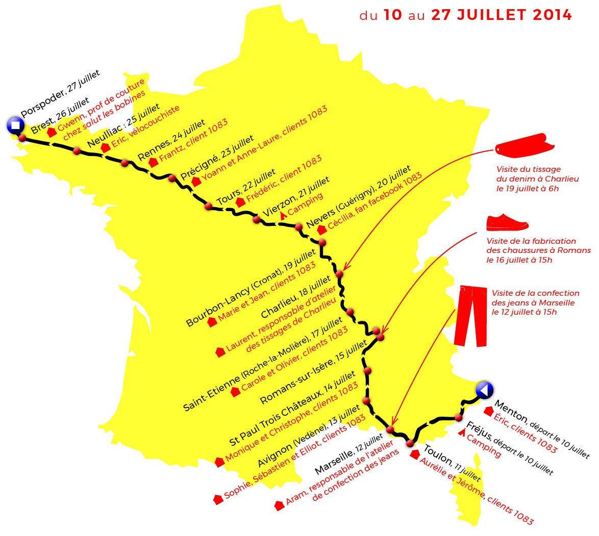 Tour de France 1083